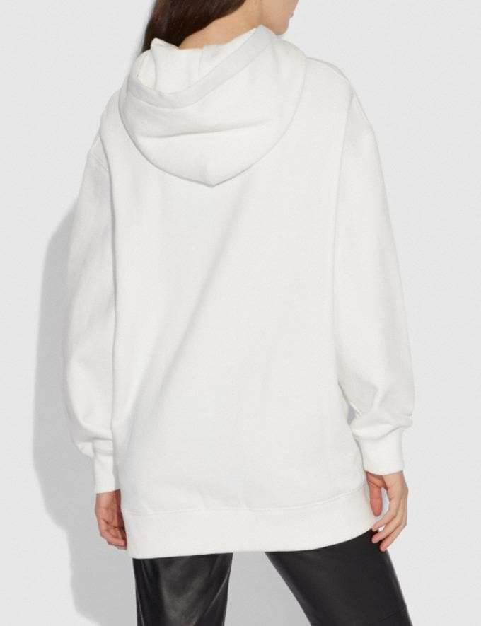 Coach Disney X Coach Bambi Oversized Hoodie Cream SALE Women's Sale Ready-to-Wear Alternate View 2