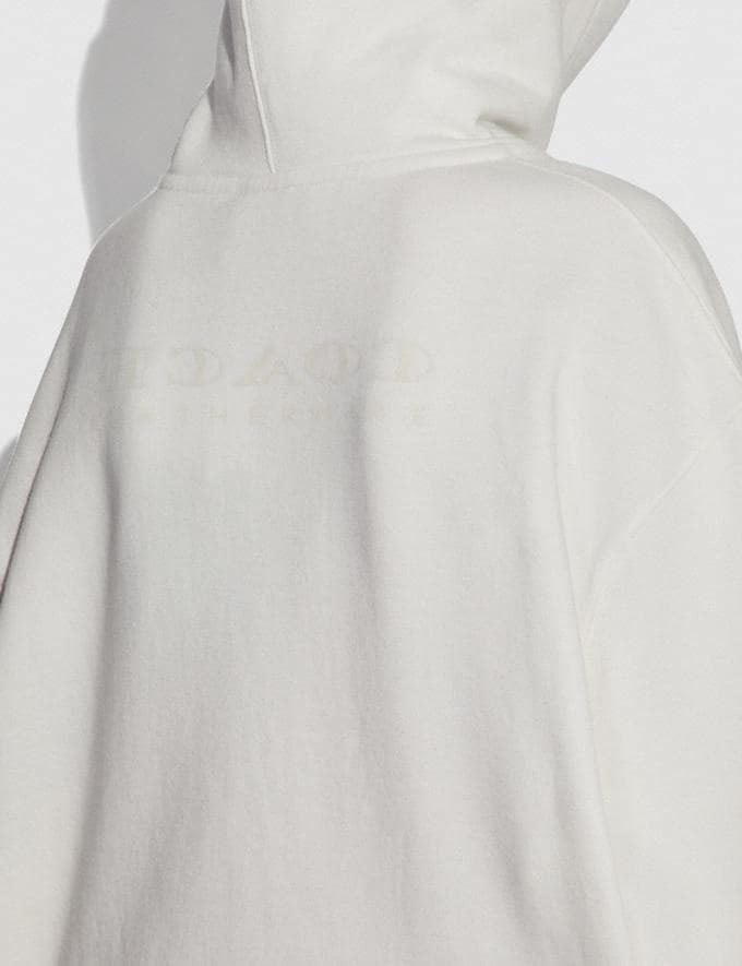 Coach Disney X Coach Bambi Oversized Hoodie Cream SALE Women's Sale Ready-to-Wear Alternate View 3