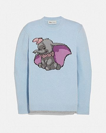 DISNEY X COACH DUMBO INTARSIA SWEATER 2836b6e99a9c