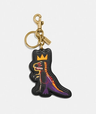 COACH X JEAN-MICHEL BASQUIAT BAG CHARM