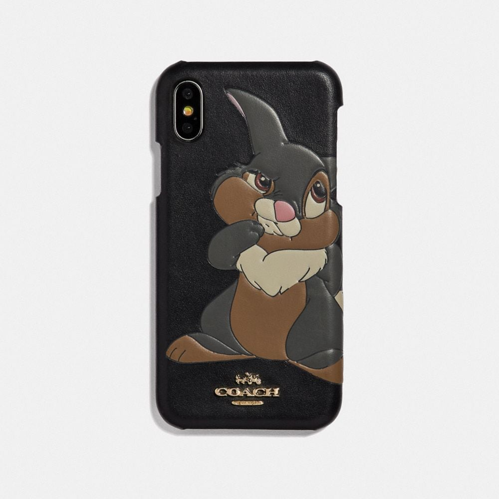 DISNEY X COACH IPHONE XS MAX CASE WITH THUMPER