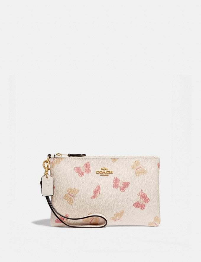 a81da46566 Small Wristlet With Butterfly Print