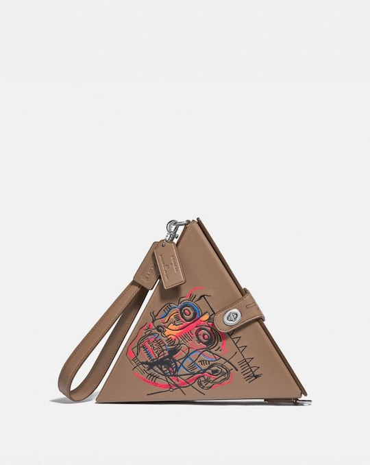 COACH X JEAN-MICHEL BASQUIAT TRIANGLE BAG 24