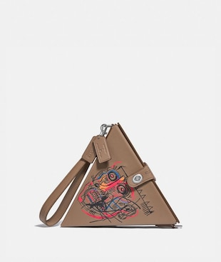 SAC TRIANGLE 24 COACH X JEAN-MICHEL BASQUIAT