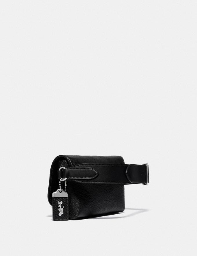 Coach Coach X Jean-Michel Basquiat Rogue Crossbody 20 Black New Men's New Arrivals Bestsellers Alternate View 1