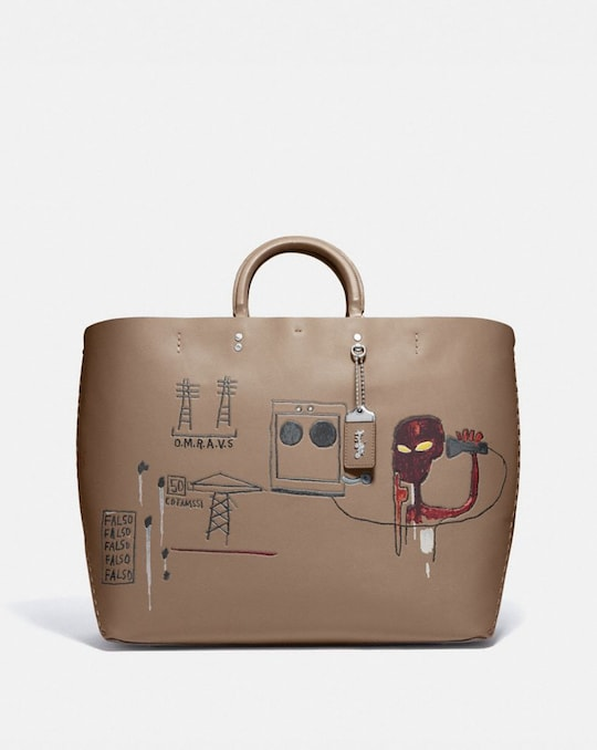 BORSA LARGA ROGUE 38 COACH X JEAN-MICHEL BASQUIAT