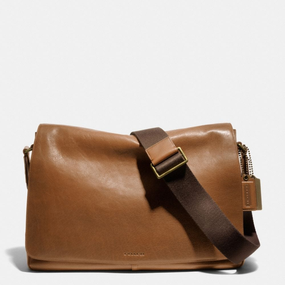 Bleecker Legacy Courier Bag in Leather