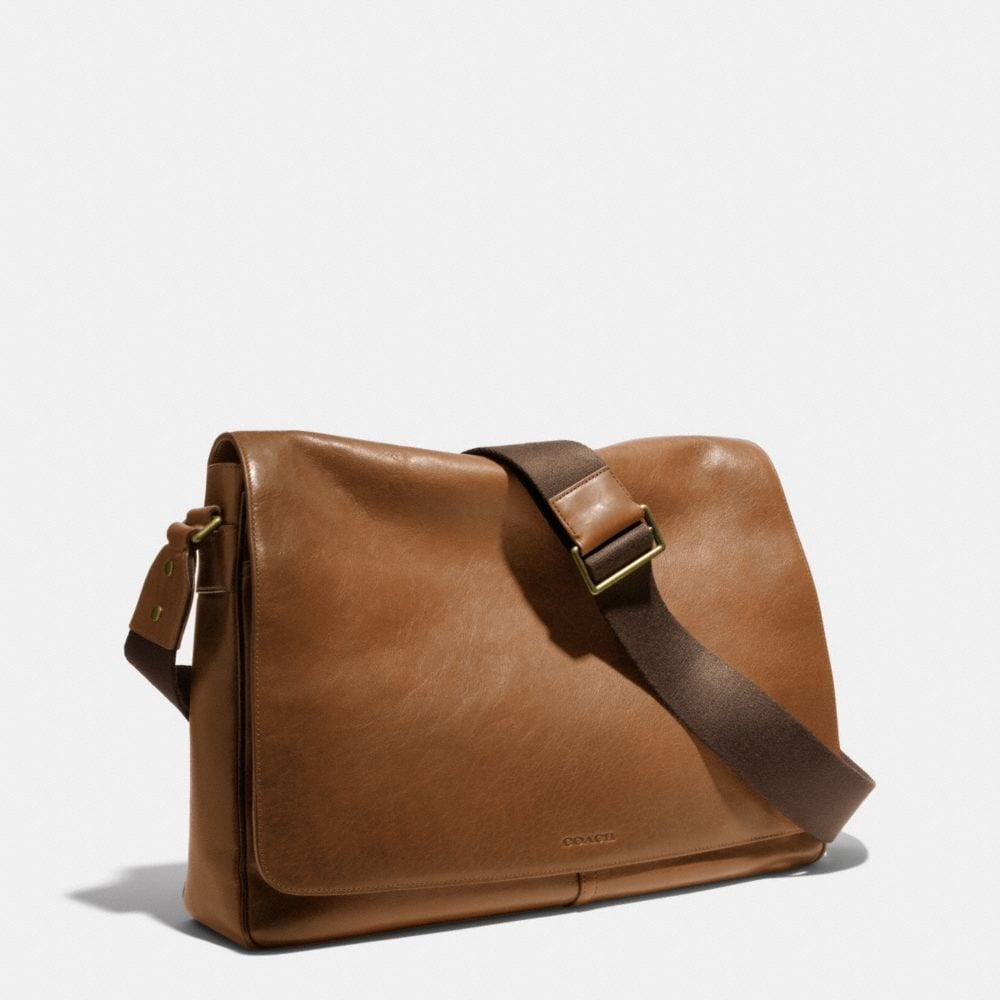 BLEECKER LEGACY COURIER BAG IN LEATHER - Autres affichages A2