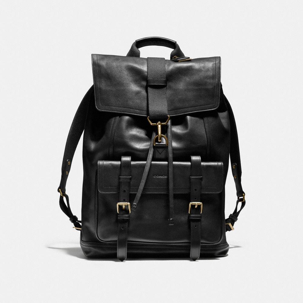 Colorado Leather Backpack - Crazy Backpacks
