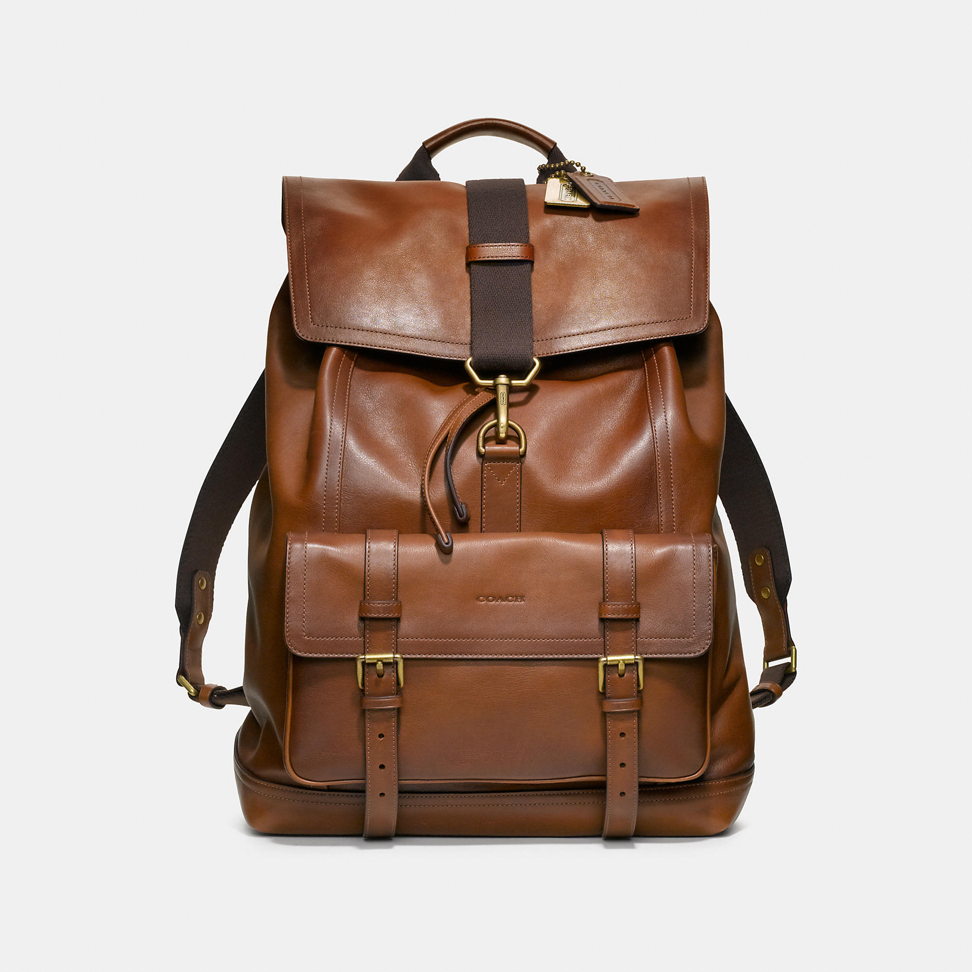 Coach Bleecker Backpack In Leather