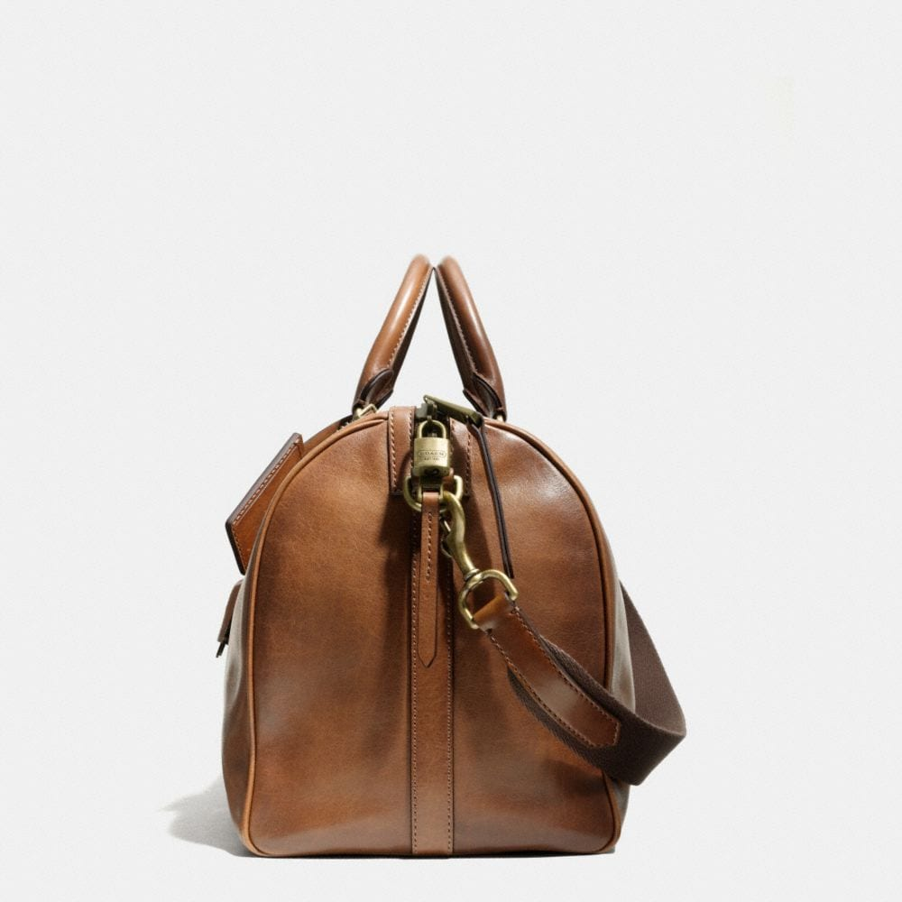 BLEECKER DUFFLE IN LEATHER - Alternate View A1