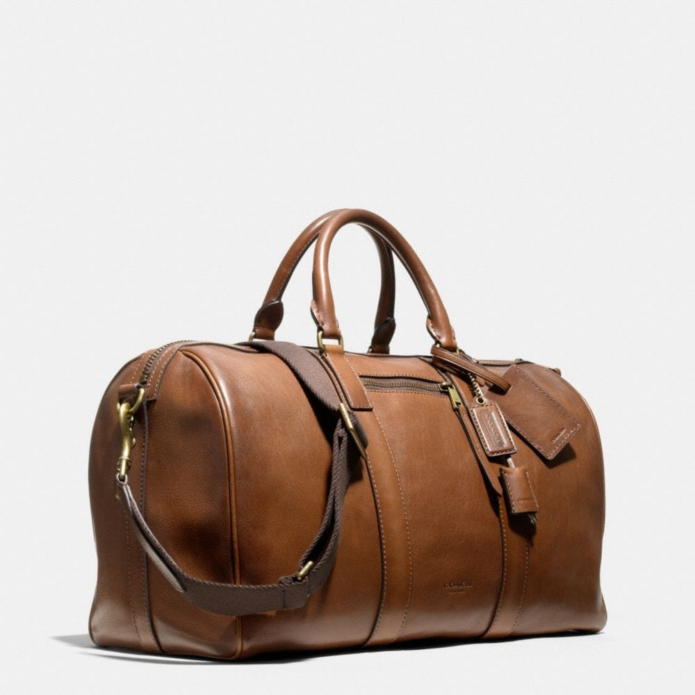 Coach Bleecker Duffle in Leather Alternate View 2