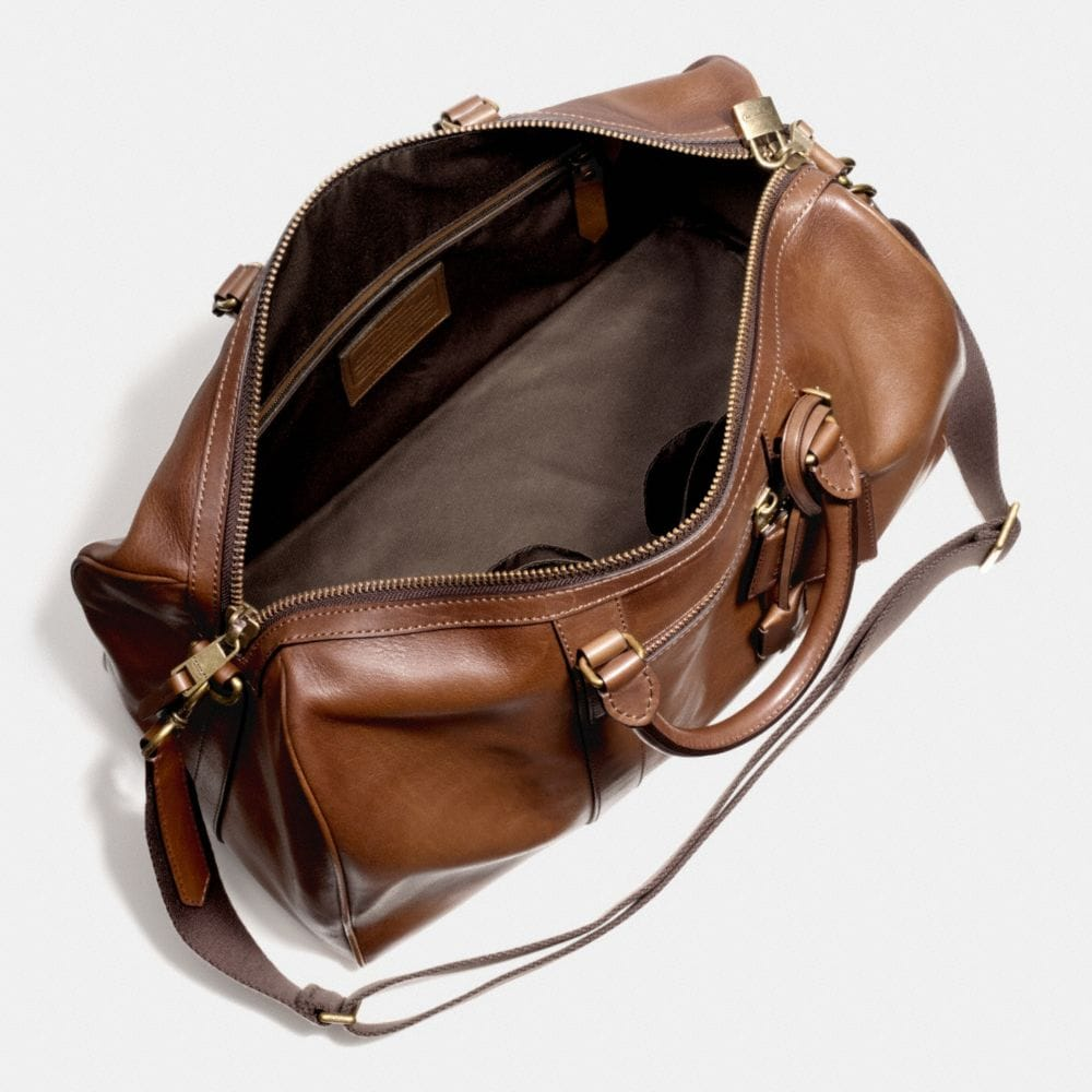 Coach Bleecker Duffle in Leather Alternate View 3