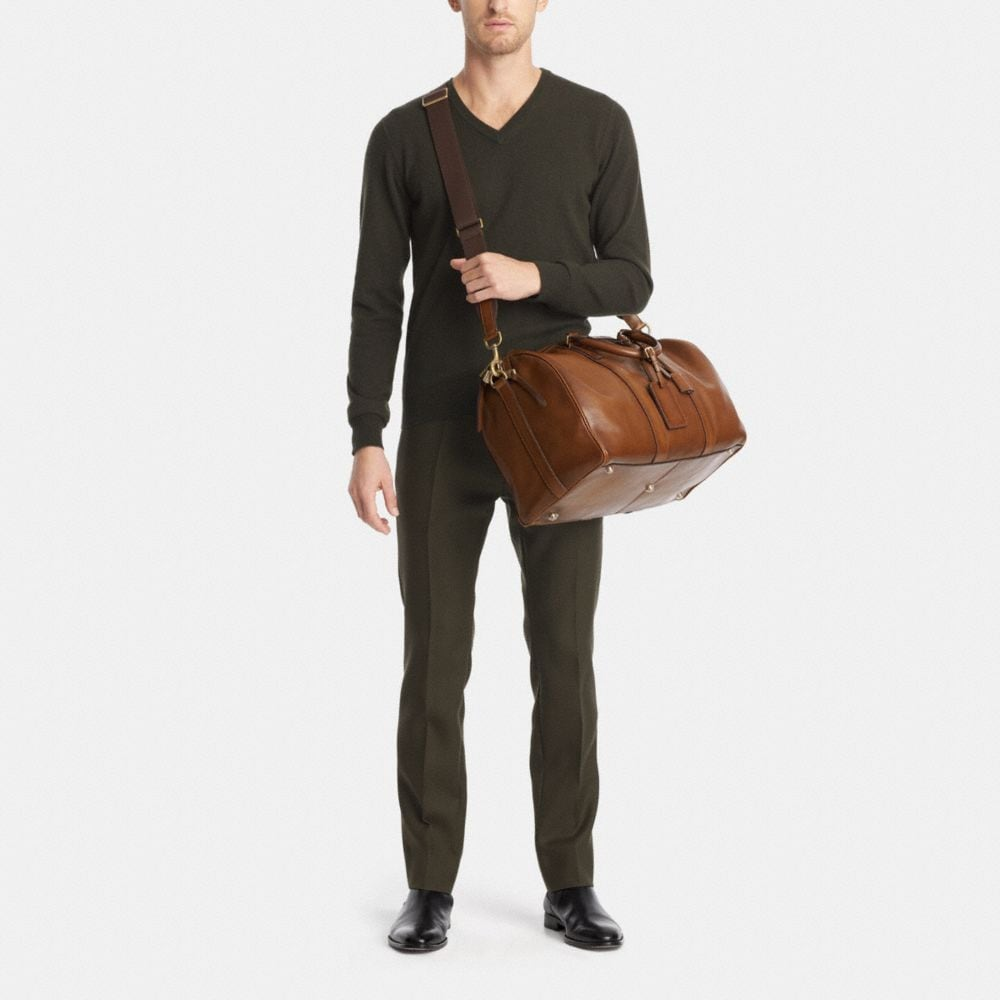 Bleecker Duffle in Leather - Alternate View M