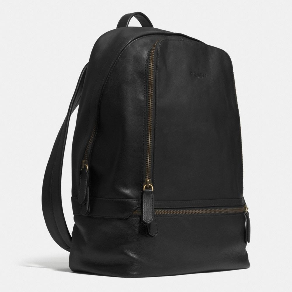 Bleecker Traveler Backpack in Leather - Alternate View A2