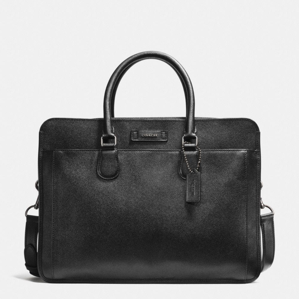 Commuter in Crossgrain Leather