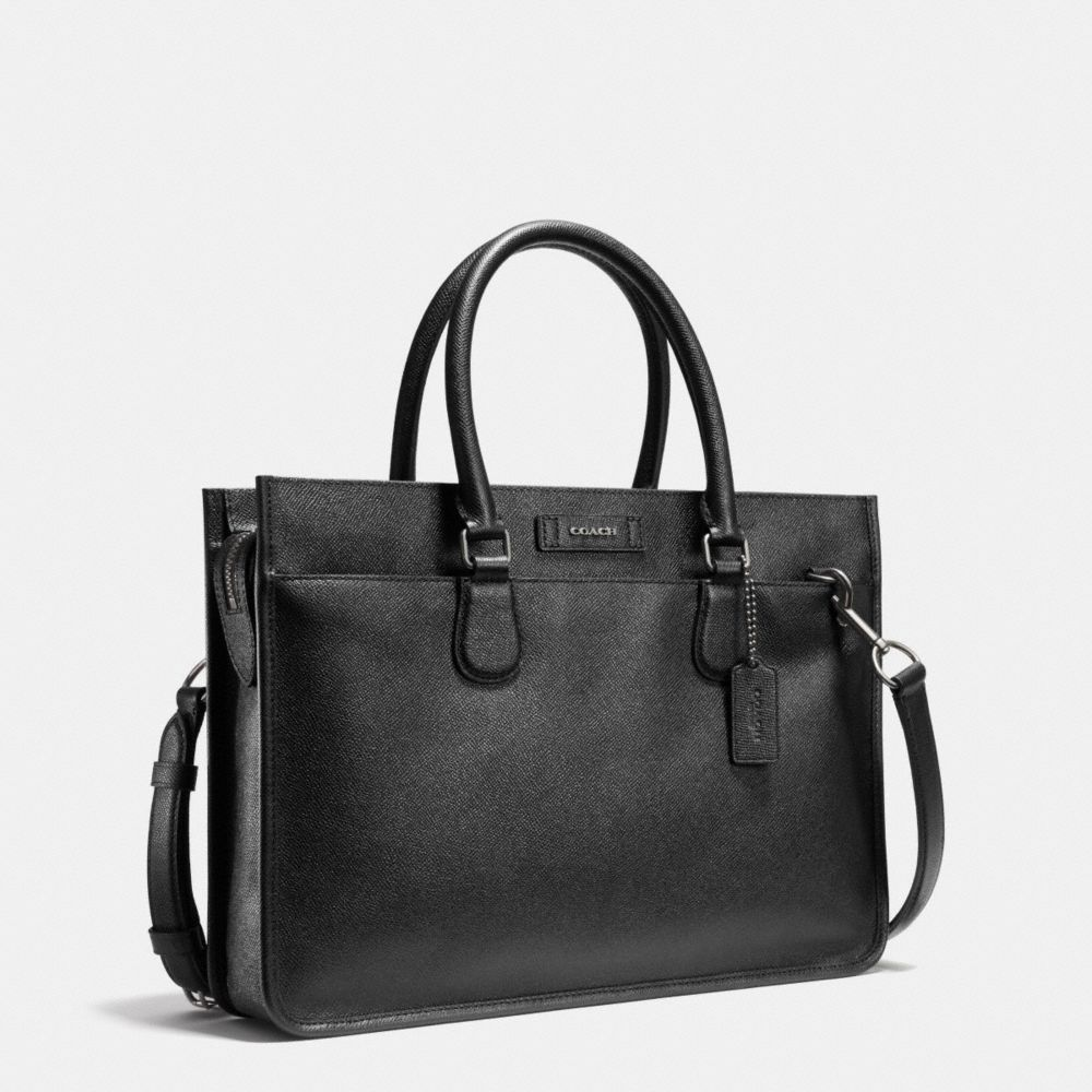 Embassy Brief in Crossgrain Leather - Autres affichages A2