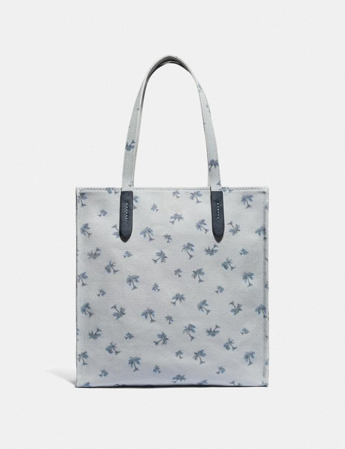 Coach Tote With Rainbow Signature Sharky Multi New Women's New Arrivals Alternate View 2