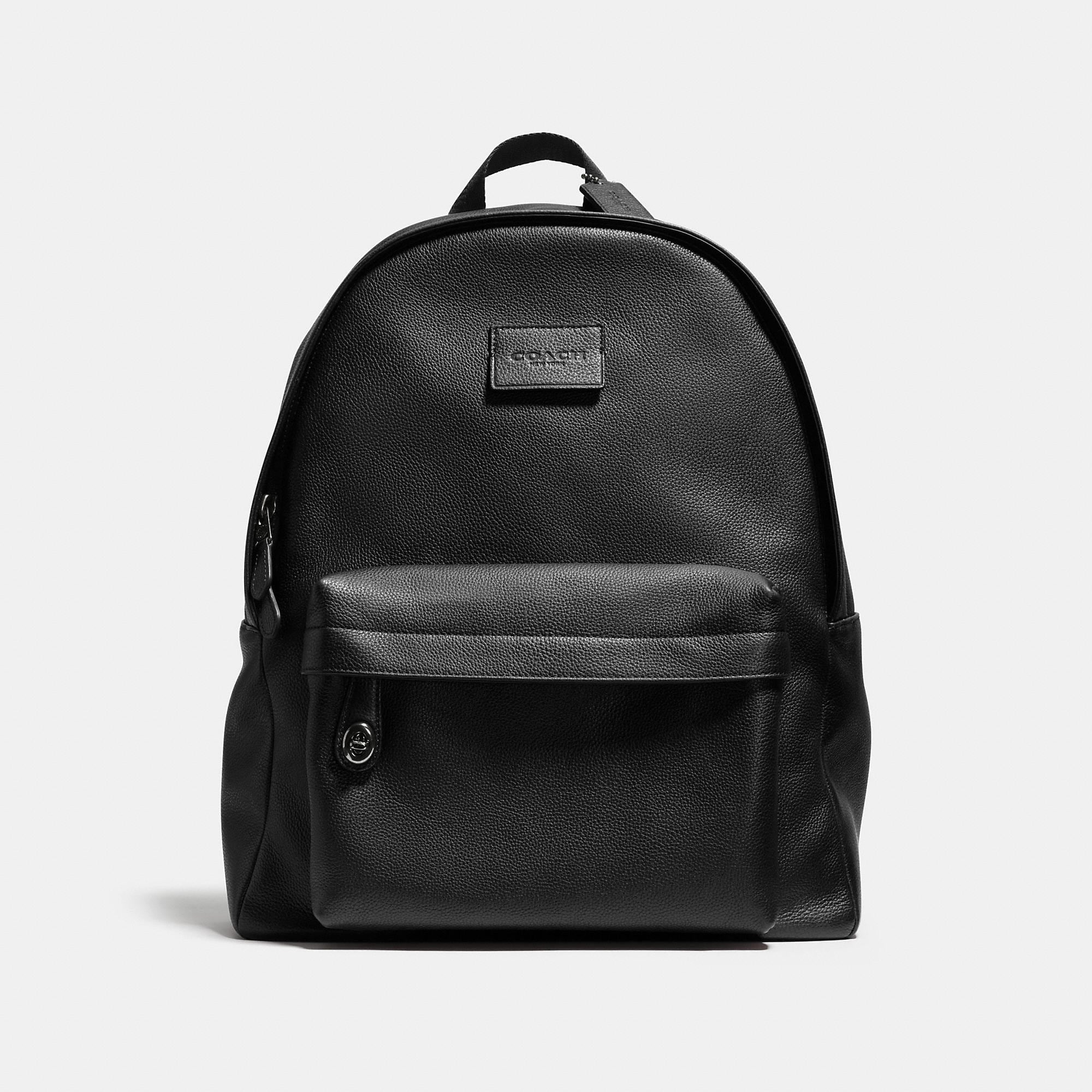 Coach Campus Backpack In Refined Pebble Leather