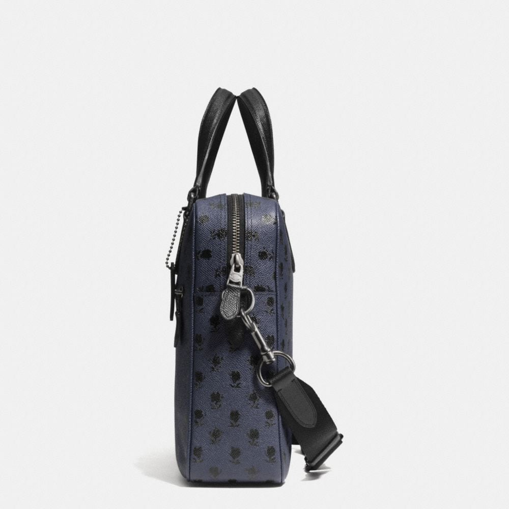 Coach Hudson Bag in Printed Crossgrain Leather - Alternate View A1