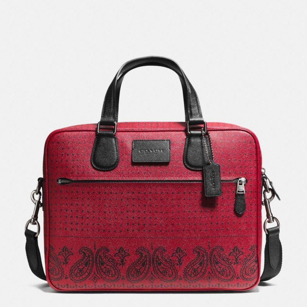 Coach Hudson Bag in Printed Crossgrain Leather