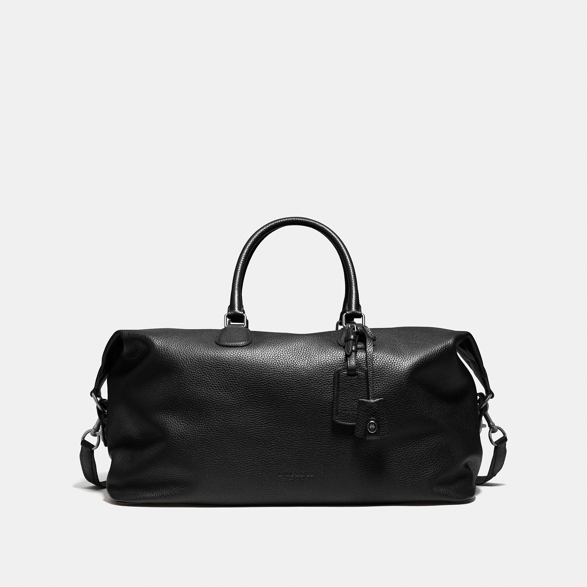 Coach Explorer Bag 52 In Pebble Leather