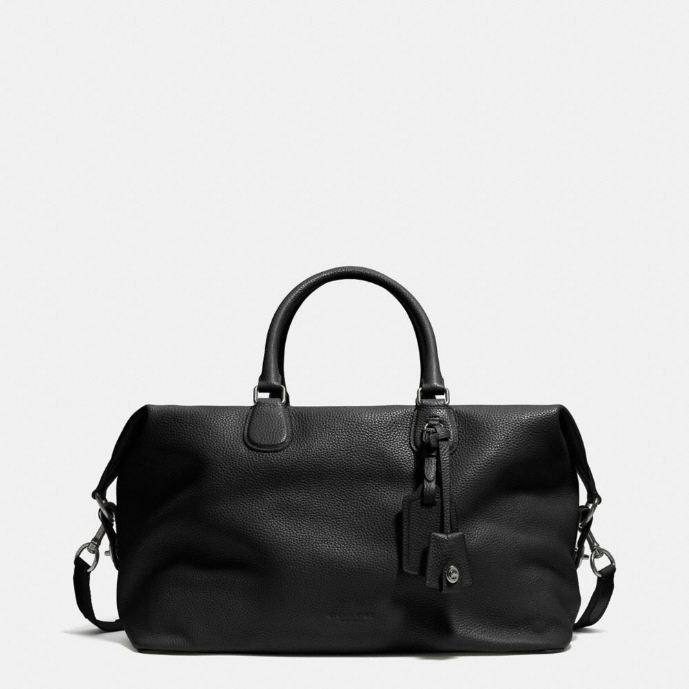 EXPLORER DUFFLE IN PEBBLE LEATHER