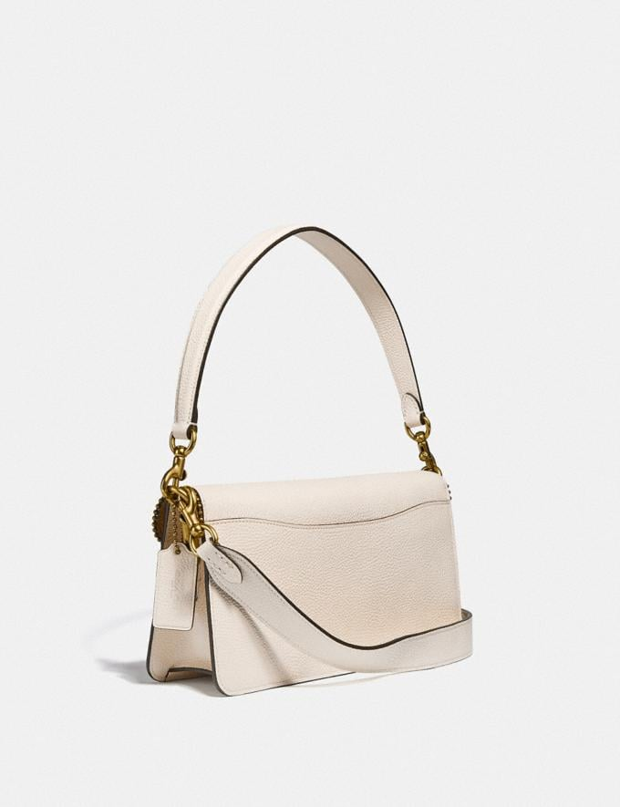 Coach Tabby Shoulder Bag 26 With Beadchain Brass/Chalk Women Bags Shoulder Bags Alternate View 1