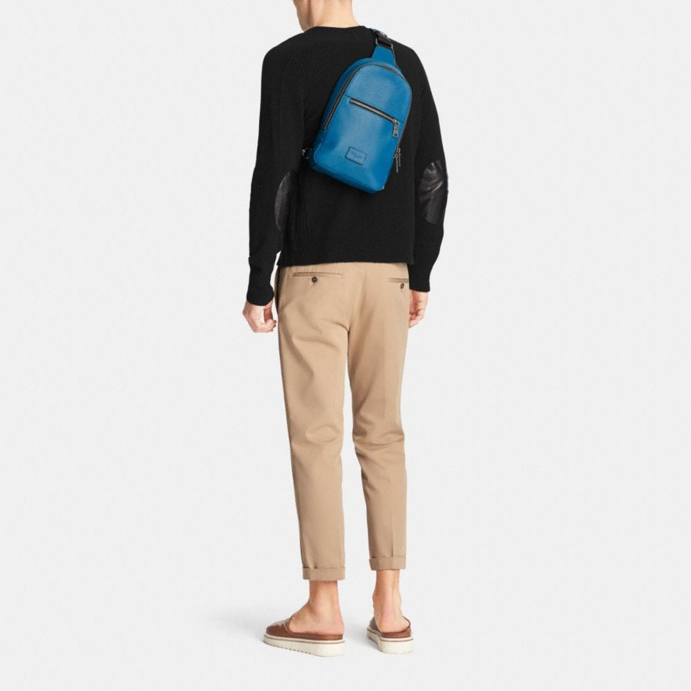 Campus Pack in Pebble Leather - Autres affichages M