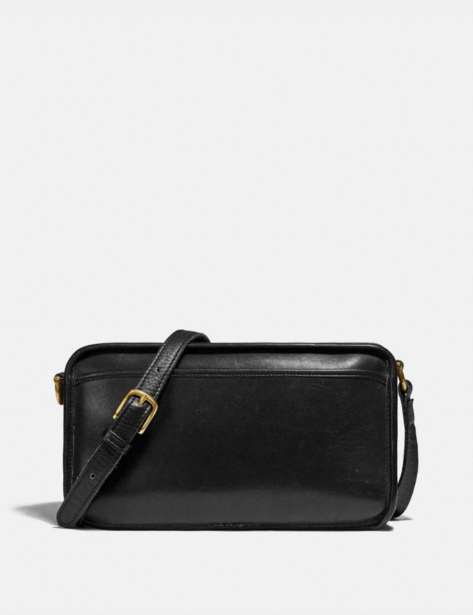 Coach Restored Multi Compartment Bag Brass/Black