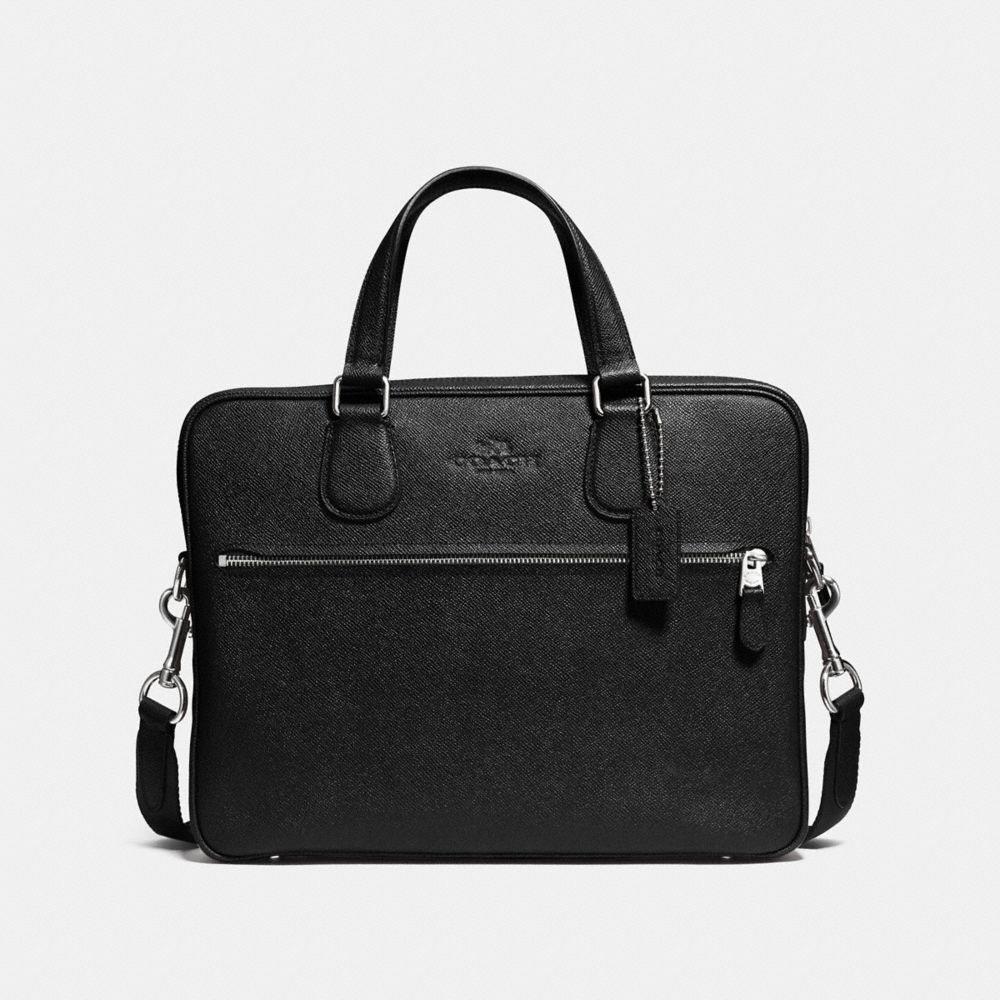 COACH HUDSON SLIM BRIEF IN LEATHER