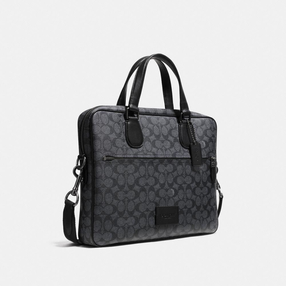 Coach Hudson 5 Bag in Signature Leather - Alternate View A2