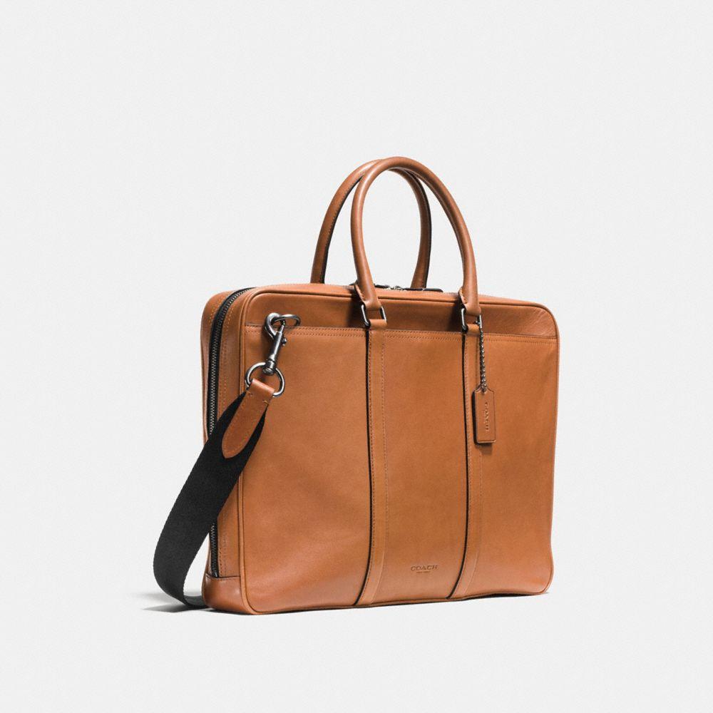 Metropolitan Slim Brief in Sport Calf Leather - Alternate View A2