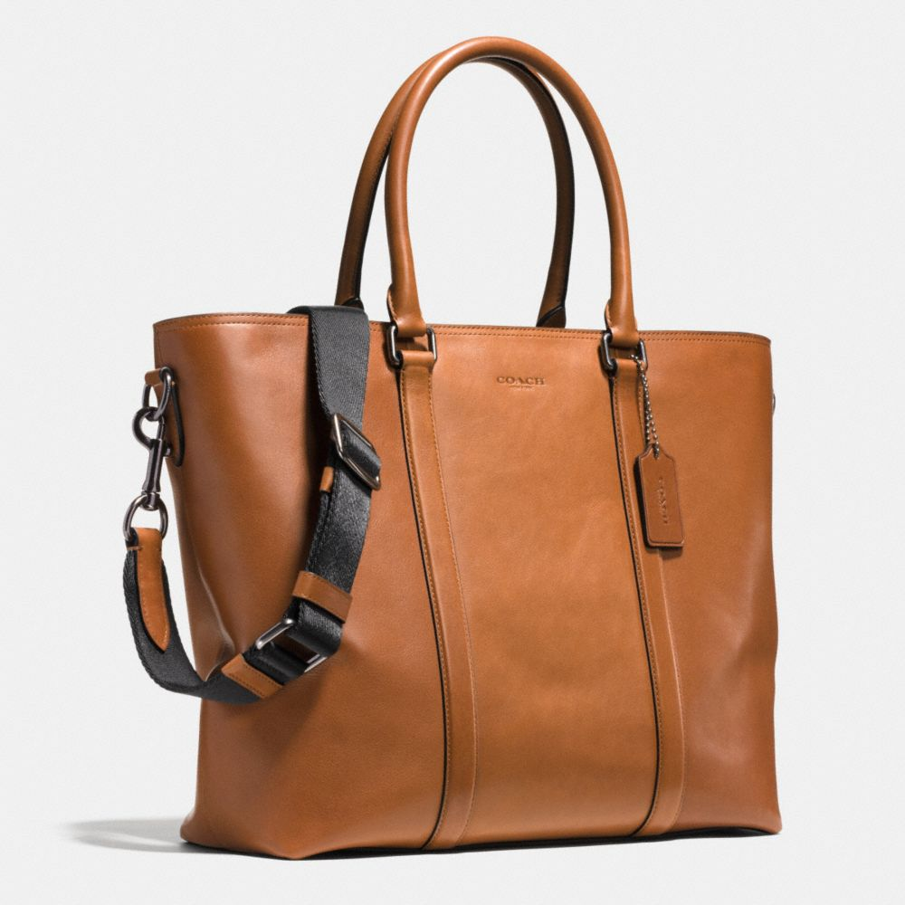 METROPOLITAN TOTE IN SPORT CALF LEATHER - Alternate View A2