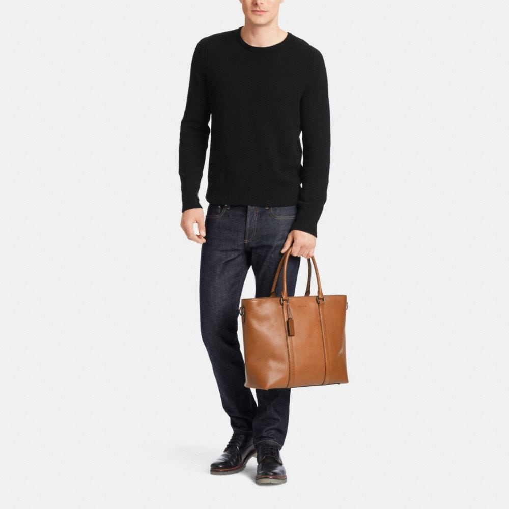 METROPOLITAN TOTE IN SPORT CALF LEATHER - Alternate View M2