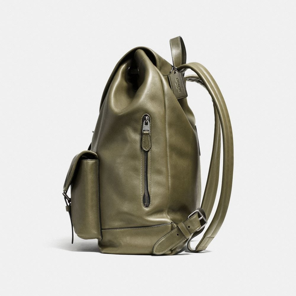 Rucksack in Sport Calf Leather - Autres affichages A1