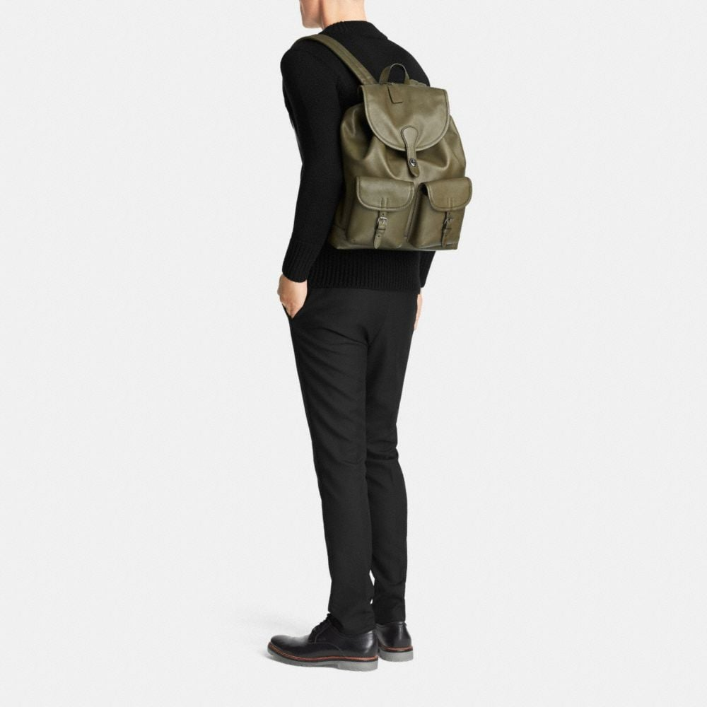 Rucksack in Sport Calf Leather - Autres affichages M