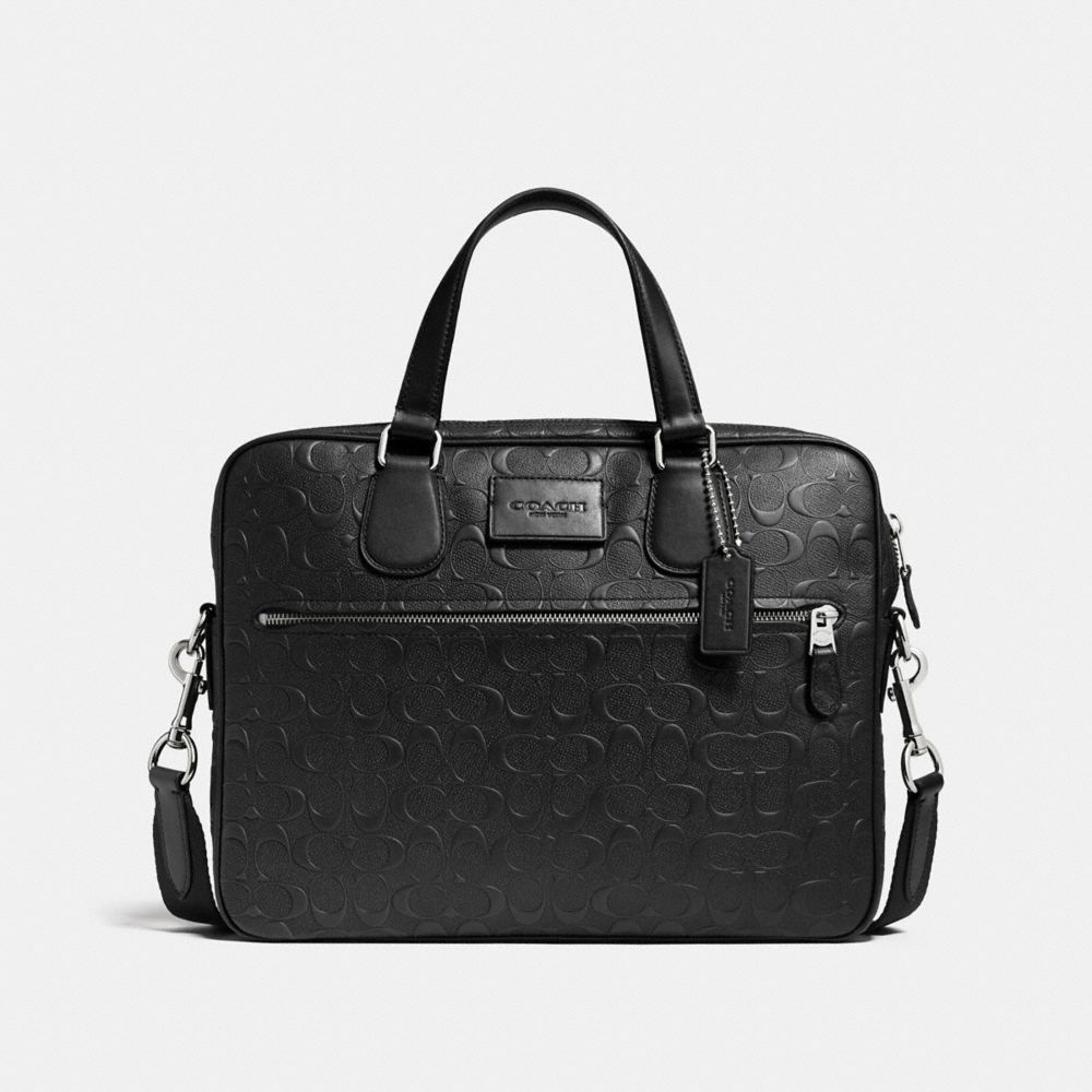 COACH HUDSON 5 BAG IN SIGNATURE CROSSGRAIN LEATHER