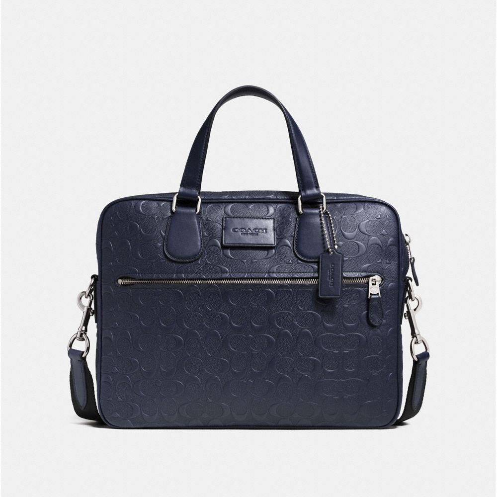 Coach Hudson 5 Bag in Signature Crossgrain Leather