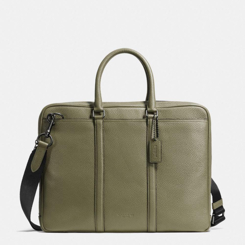 Metropolitan Slim Brief in Pebble Leather