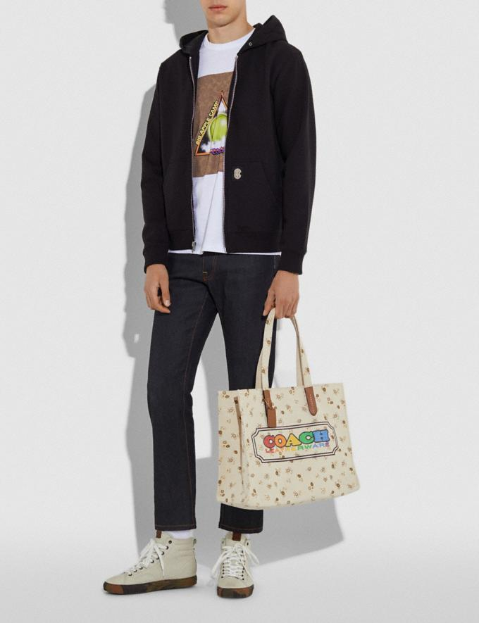 Coach Tote With Rainbow Coach Badge Multi New Featured Coach Pride Collection Alternate View 5