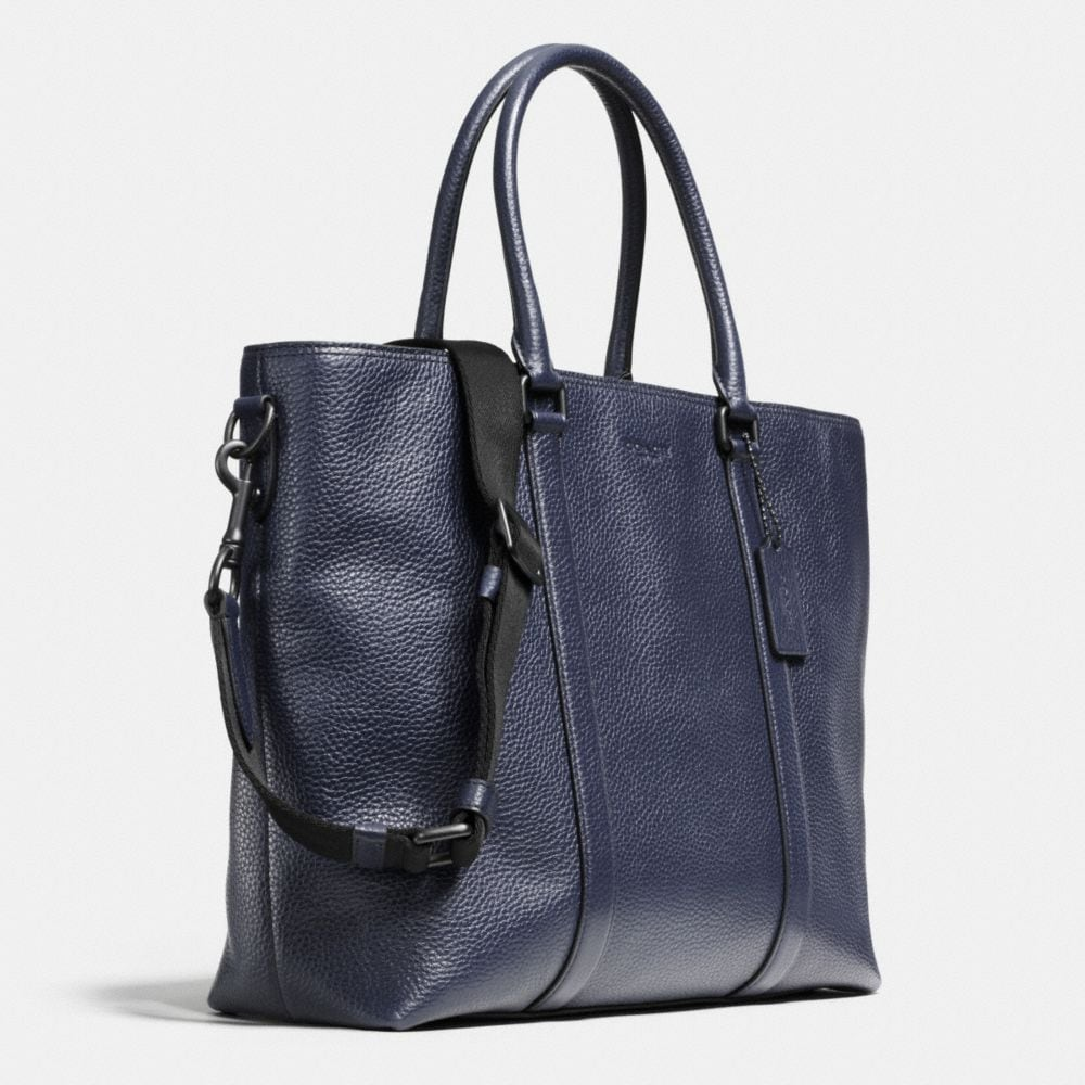 Metropolitan Tote in Pebble Leather - Alternate View A2