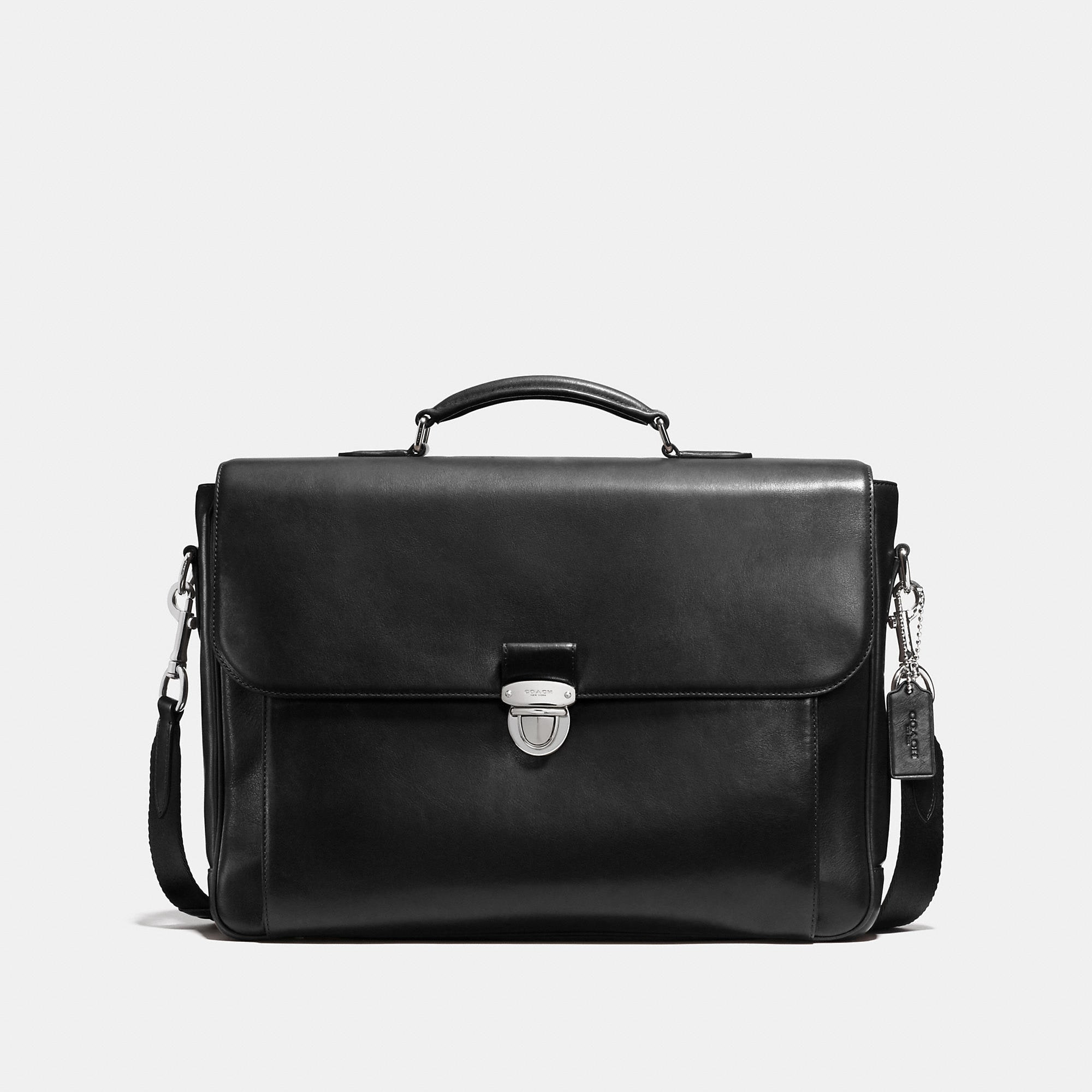 Coach Metropolitan Briefcase In Sport Calf Leather