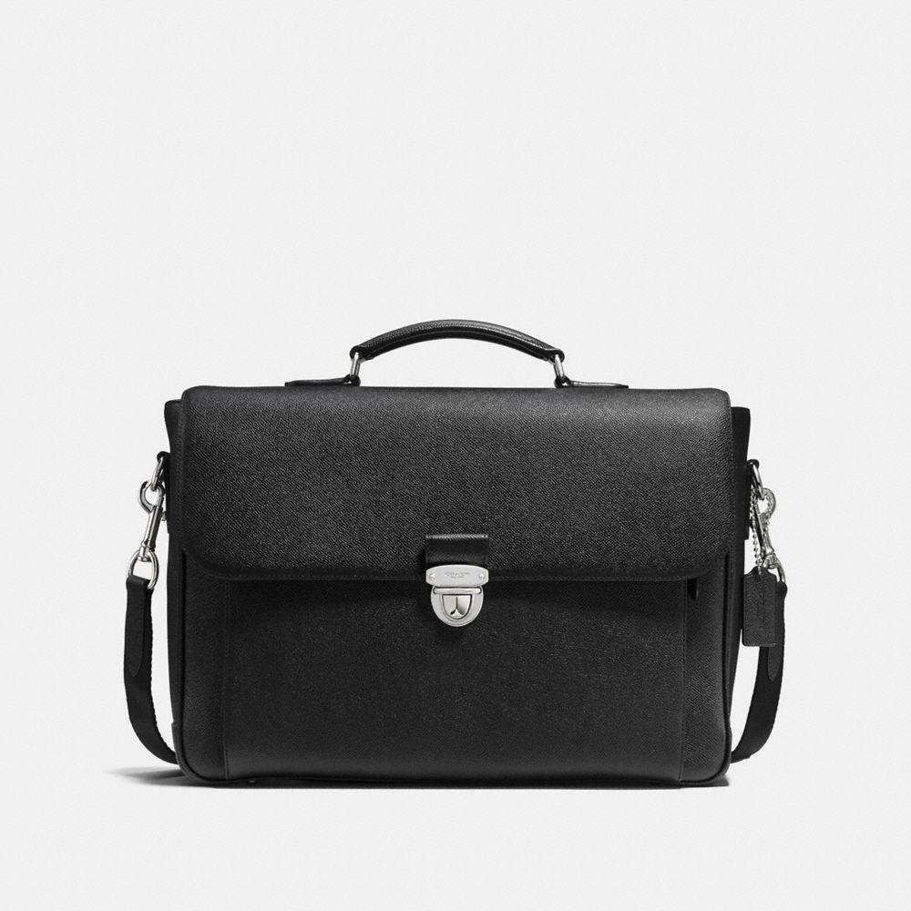 Metropolitan Briefcase in Crossgrain Leather