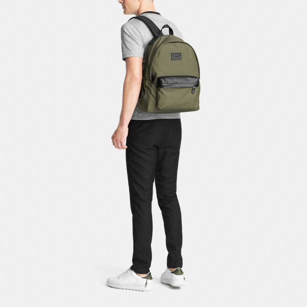Campus Backpack in Nylon - Alternate View M