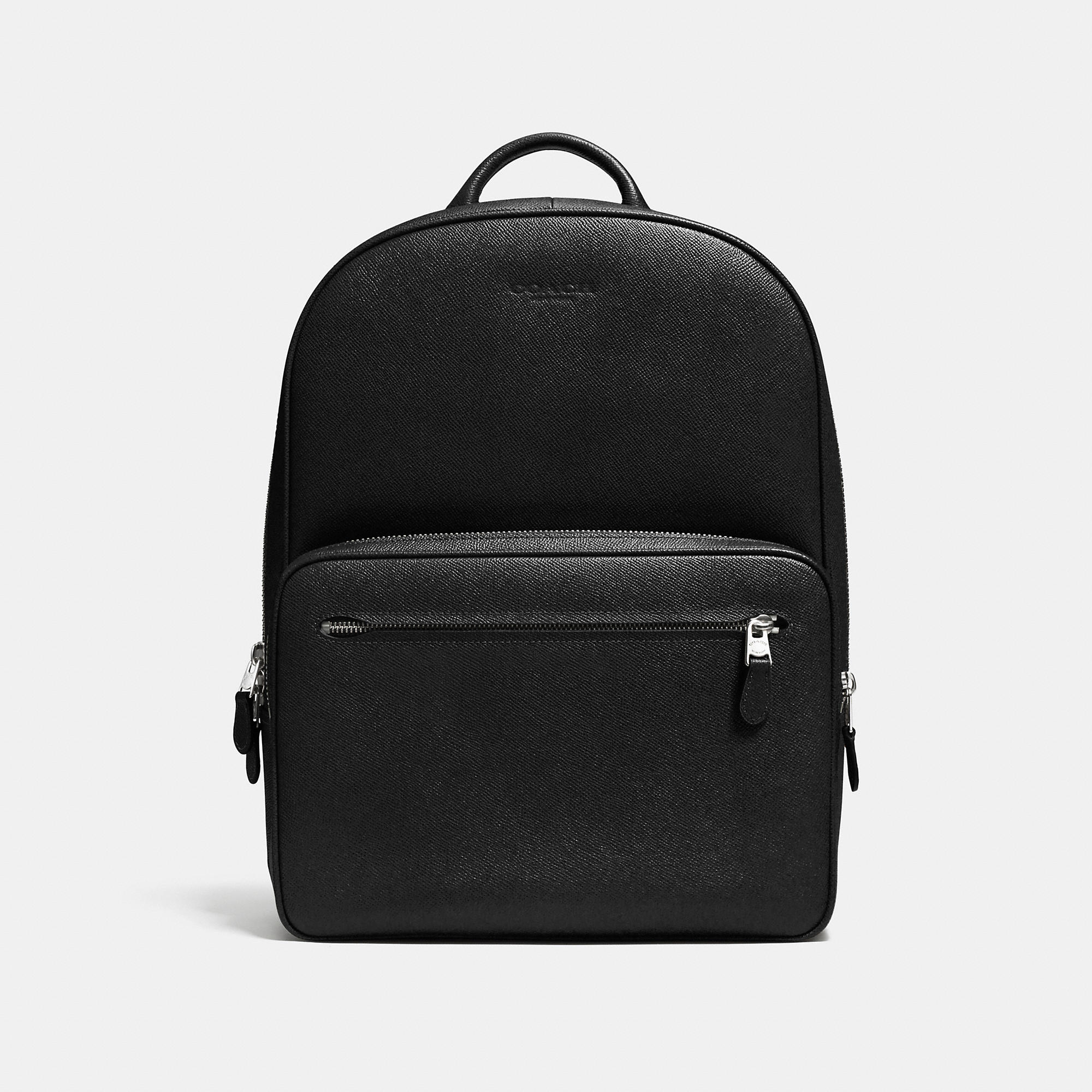 Coach Hudson Backpack In Crossgrain Leather