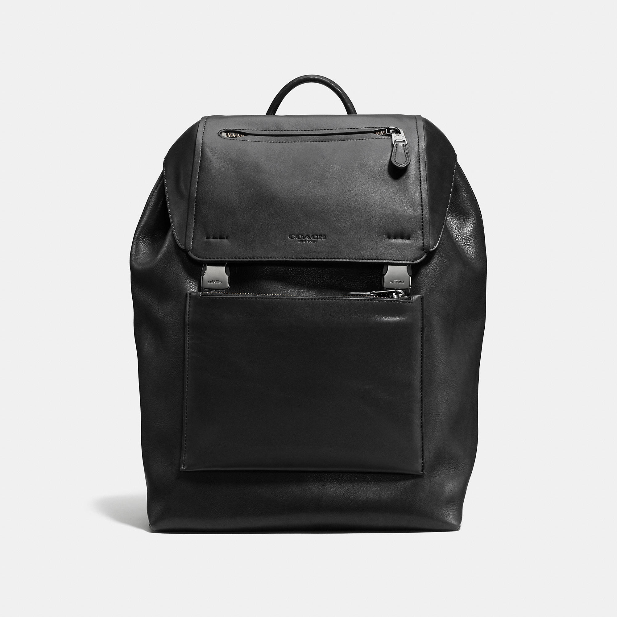 Coach Manhattan Backpack In Leather