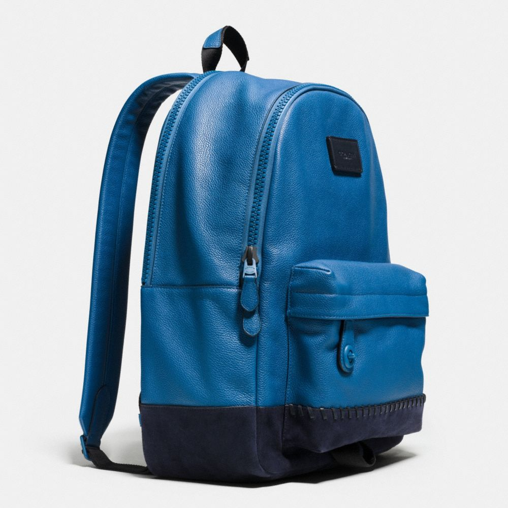 Coach Modern Varsity Campus Backpack in Pebble Leather Alternate View 2