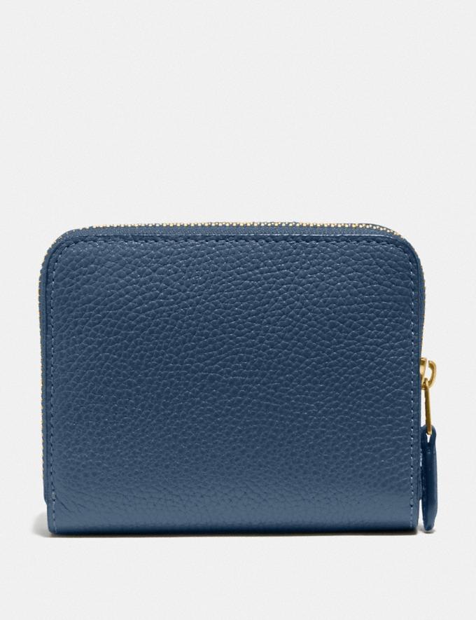 Coach Billfold Wallet in Colorblock Brass/Dark Denim Multi Women Wallets & Wristlets Small Wallets Alternate View 1