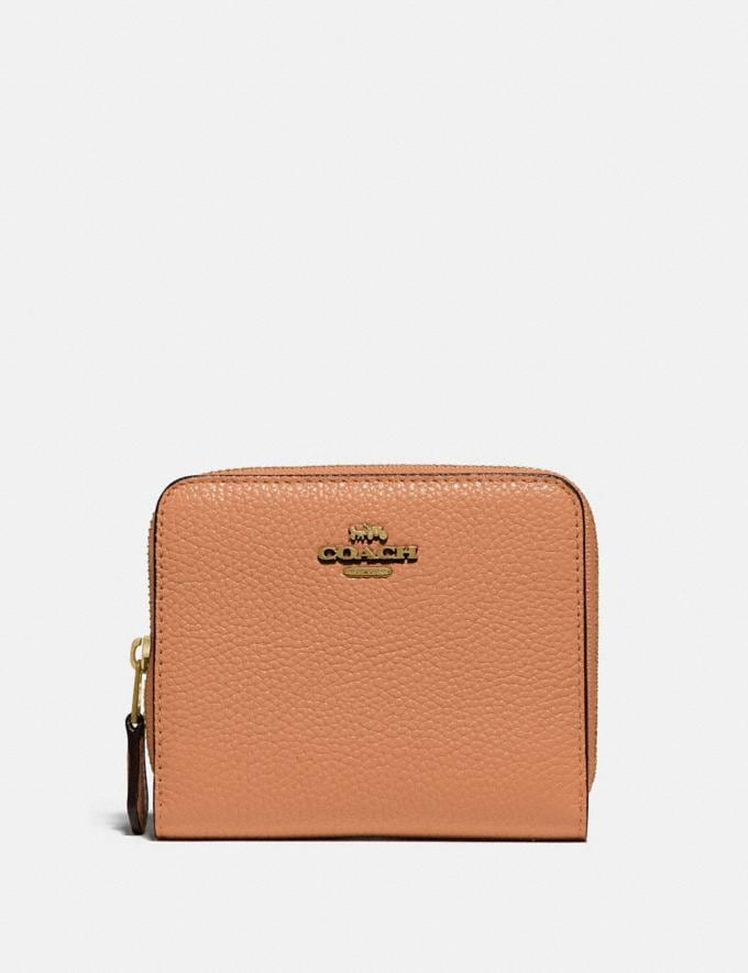 Coach Billfold Wallet in Colorblock Brass/Natural Multi New Women's New Arrivals Small Leather Goods